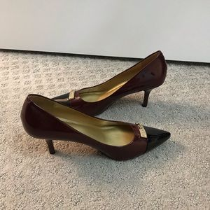 Coach Heels - Almost New!!